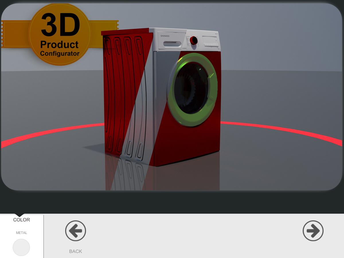 3D Product Configurator by Kibrit Creative Solutions